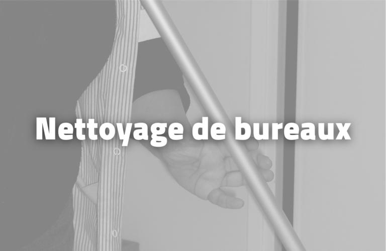Nettoyage de Bureaux - TAE - Ecosolidaire